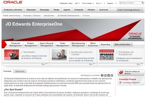 Servicio Cloud Computing: JD Edwards EnterpriseOne - Un Software Cloud ERP Integral
