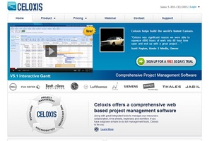 Servicio Cloud Computing: Celoxis - Software Integral de Gestión de Proyectos