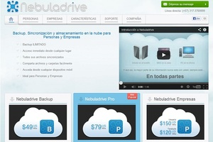 Servicio Cloud Computing: Nebuladrive - Backup, Sincronización y Almacenamiento en la Nube.