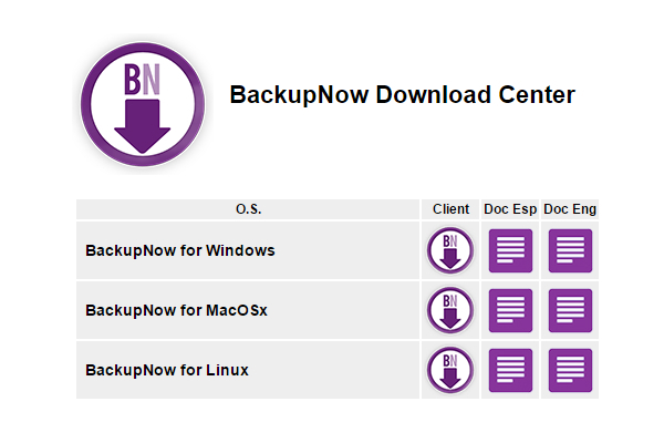 Imagen #2 del Servicio Cloud Computing BackUp Now